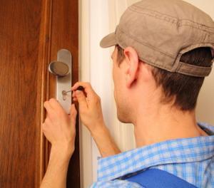 Türöffnung durch Lockpicking